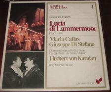 """I Gioielli Della Lirica Lp """" LUCIA DI LAMMERMOOR """" Longanesi Periodici n° 1"""