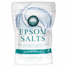 Epsom Sales de baño Spa remojo sulfato de magnesio dolores musculares Dolores Eucalipto