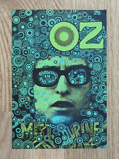 Oz Magazine Postcard / Bob Dylan
