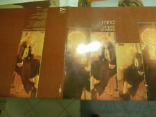 "LP 12""  MINA AMANTI DI VALORE GATEFOLD COVER LAMINATED EX++"