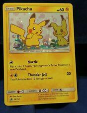 Pikachu HOLO RARE SM162  Black Star PROMO Pokemon Card NM/M