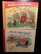 60er Jahre: F. BAUMGARTEN Teddys Abenteuer, Teddys große Fahrt - Bilderbücher