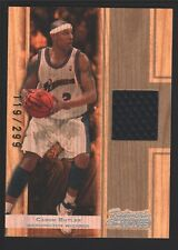 CARON BUTLER 2007-08 TOPPS TRADEMARK MOVES JERSEY PATCH SP WIZARDS /299 $12