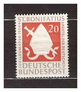 S31518) Germany 1954 MNH Bonifatius 1v
