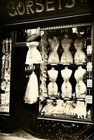 1912 PARIS Corset Shop Eugene Atget Blvd. de Strasbourg Vintage Photo Reprint