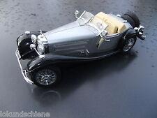 Mercedes Benz  500 K Roadster Beige  1:20 ca 25 cm lang .. Bburago Metall #4419