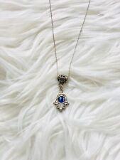 Hamsa Hand Necklace Chocker Chain