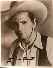 YAKIMA CANUTT 8x10 B & W Signed PHOTO