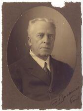 Fred Boissonnas Portrait d'Eugène Drieux Vintage argentique