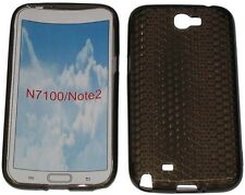Pattern Gel Case Protector Cover For Samsung Galaxy Note 2 GT N7100 N7105 Black