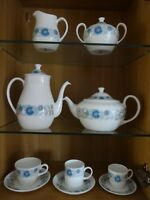 "WEDGWOOD ""CLEMENTINE"" COFFEE & TEA SET - Perfect condition"