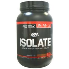 Optimum Nutrition ISOLATE Whey Protein 1.6 lbs (22 Servings) CHOCOLATE - SALE