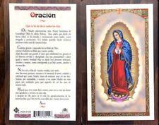 LAMINATED CARD TO ORACION PARA DECIR TODOS LOS DIAS, TEXTO ESPAÑOL #JHS29