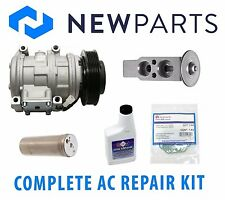 For Lexus ES300 94-98 V6 3L Complete A/C Repair Kit New Compressor w/ Clutch