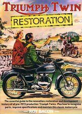 TRIUMPH Twin restauración Roy Bacon T100, 3T, 5T, 6T, T110, T21 T120 Bonneville