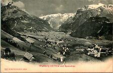 Switzerland - Engelberg mit Tillis Und Spannorter - Photoglob Co. Zurich Undiv.