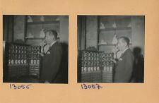 Gabriel Domergue c. 1950 - 7 Photos Peintre Graveur Sculptures Chez lui - Pl 250