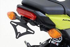 R&G Motocicleta Número/Licencia Placa colgador * Tail tidy honda MSX125 * (GROM) 2016