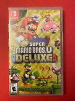 NEW & Retail Sealed: Super Mario Bros. U Deluxe for Nintendo Switch (2019)