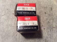 2-Iko Bearing, #Cf-12-1R, Free Shpping to lower 48, New Other!