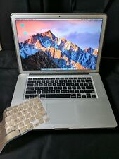MacBook Pro (15-inch Early 2011) antiglare 500GB HDD 8GB Ram i7 Processor As Is