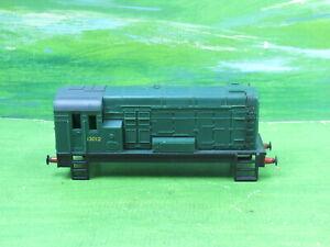 Hornby R156 Diesel Shunter body 13012 Green livery BR