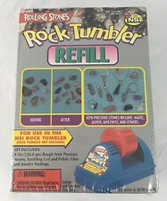 New Sealed Rolling Stones Rock Tumbler Refill Kit New in Box By NSI