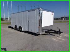 8.5x20 flat nose spread axle 20 toy hauler 3500 axles car enclosed Cargo trailer