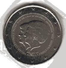 2 Euro-Münzen, Niederlande 2013, Ankündigung der Abdankung Königin Beatrix