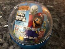 Super Mario Bros. Bandai Wii Clear Sound Drop Gashapon Keychain Figure 2008 VGC