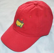 2020 MASTERS (RED) Slouch Golf HAT from AUGUSTA NATIONAL