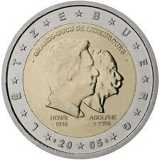 "2 € Luxemburg 2005,  "" Henri + Adolphe ""   STG"