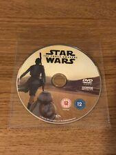 Star Wars: The Force Awakens DVD (2016) Harrison Ford. *Disc Only*