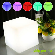 1pc LED Mood Cube Night Light Table Lamp Gadget Home Party Decoration