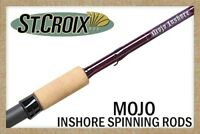 St. Croix Mojo Inshore Spinning Rod, All Models