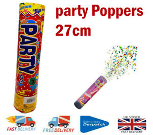 Party Poppers Compressed Air Cannons Wedding, Birthday, Party Item