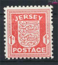 Jersey (Allemand. occ.2.wk.) 2z, blanc supprimées papier neuf avec go (9119827