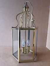 Vintage Lanterne Lustre Lampe de lumière pendentif 52 cm x 23 cm