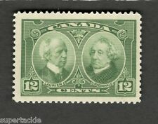 Canada SC#147 LAURIER & MACDONALD Historical Issue  F-VF MNH stamp