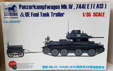 1/35 Scale Bronco Models 'German Panzer IV w/Fuel Trailer' Item # CB35030SP