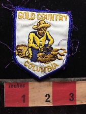 Vtg GOLD COUNTRY COLOMBIA South America Patch C76F