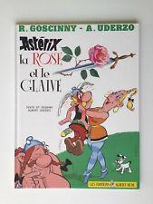 ASTERIX LA ROSE ET LA GLAIVE / GOSCINNY & UDERZO / BD EO 1991 / ALBERT RENÉ