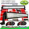 52 inch Curved + 24in LED Light Bar Off road Jeep Truck Ford GMC 4WD SUV 50 20