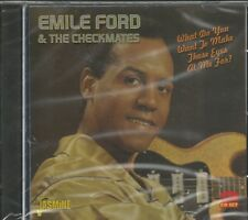 EMILE FORD & THE CHECKMATES-Want To Make Those Eyes At Me For - BRAND NEW-2 CDs