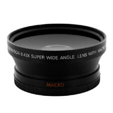 67mm 0.43x Wide Angle Lens with Macro for Nikon Sony DSLR Camera 18-135mm
