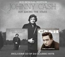 JOHNNY CASH - OUT AMONG THE STARS/THE CLASSICS NEW CD