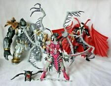 Spawn lot of 3 action figures, Spawn, Cy-Gor, Widow Maker