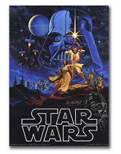 Star Wars: A New Hope ORIGINAL Vintage Poster & FREE PRINTS signed Hildebrandt