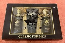 Beverly Hills Polo Club ~ Mens Gift Set ~ Classic Scent
