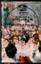 "EDUARD STRAUSS ""JOHANN & JOSEF STRAUSS: WALTZES & POLKAS"" CASSETTE 1980 allegro"